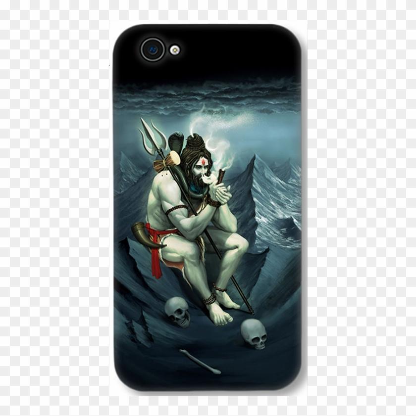 Vivo Y69 Smoking Shiva Mahadev Designer Printed 3d - Lord
