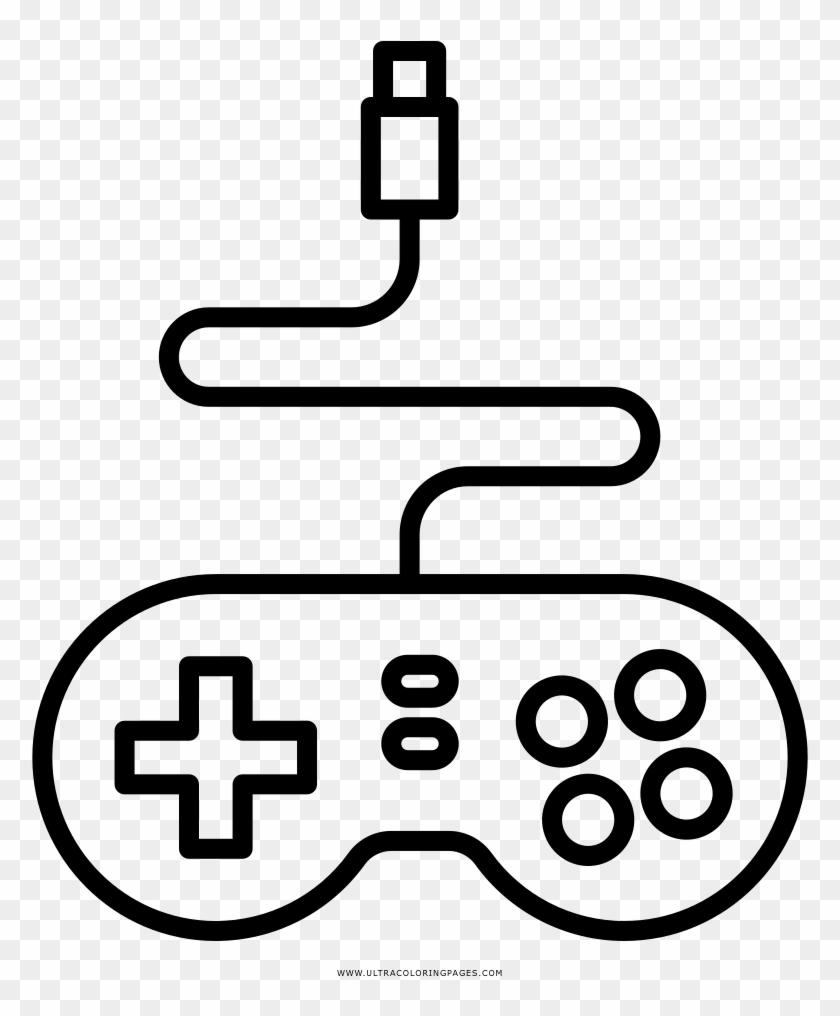 Video Game Desenho Png Desenho De Controle De Video Game