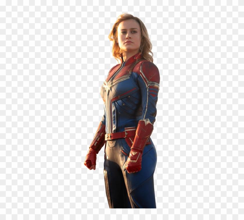 Carol Danvers Brie Larson, HD Png Download - 715x715(#2959575) - PngFind