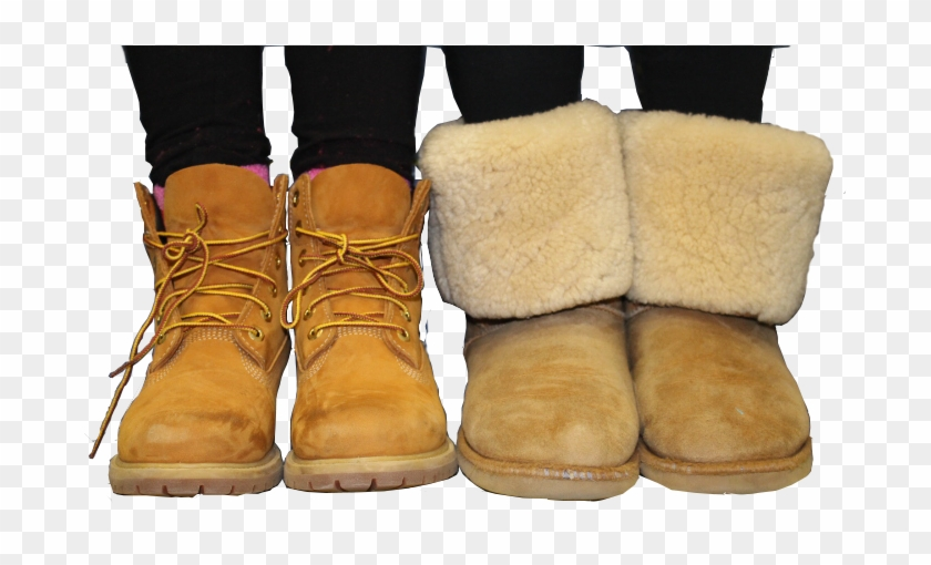 7aef6a5495c Battle Of The Bms Boots - Uggs Or Timberlands, HD Png Download ...
