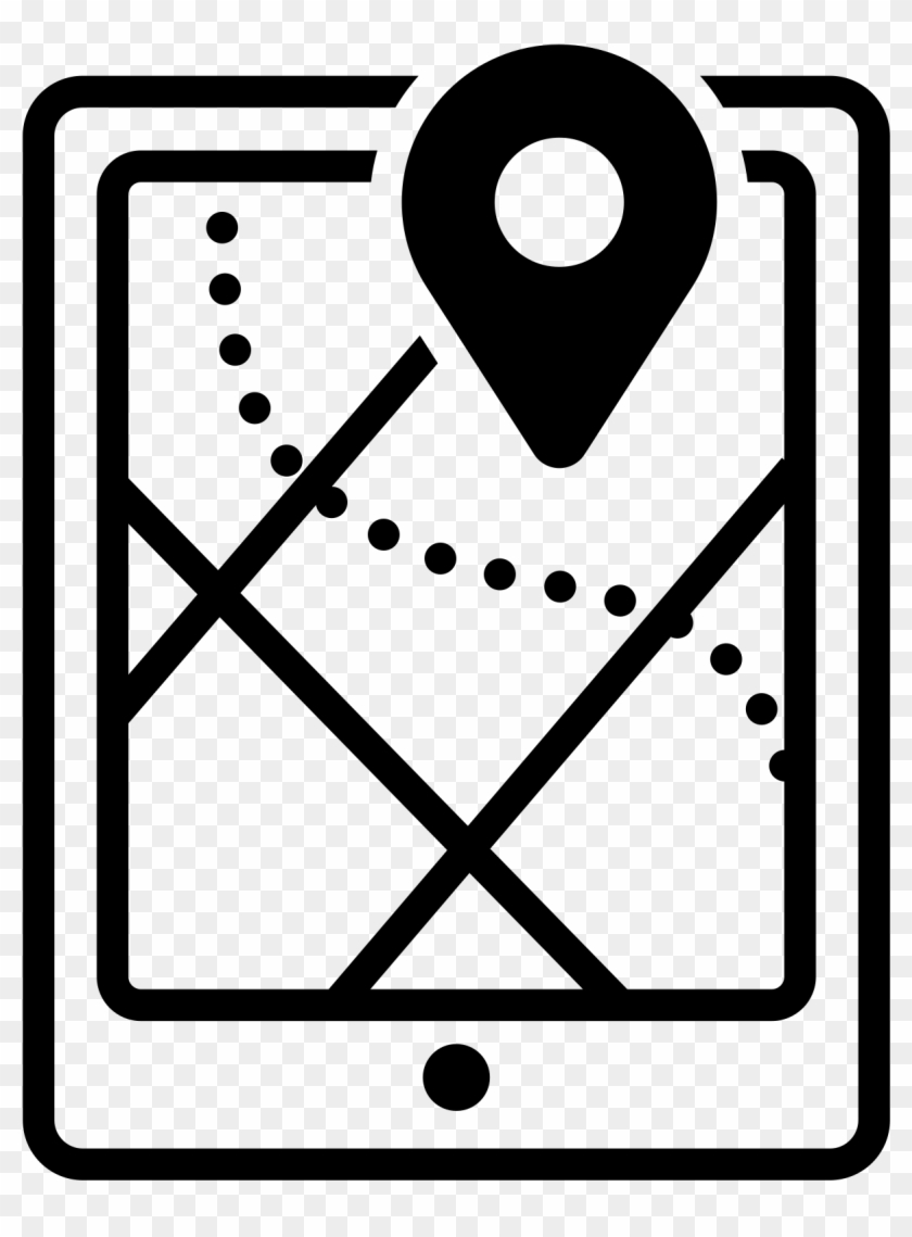 Clipart Black And White Stock File Map Icon Wikimedia