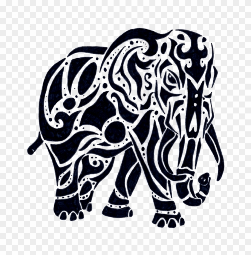 Elephant tribal. Png indian transparent x