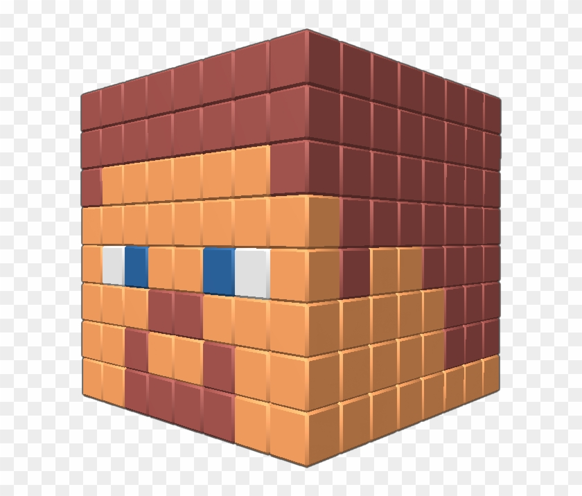Steve Head From Minecraft Attach It To Anything If Tile Hd Png Download 609x636 2982147 Pngfind