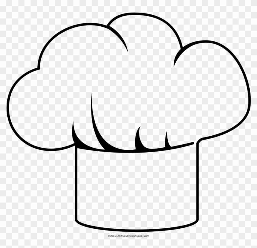 Sombrero Chef Png Sombrero De Chef Para Colorear