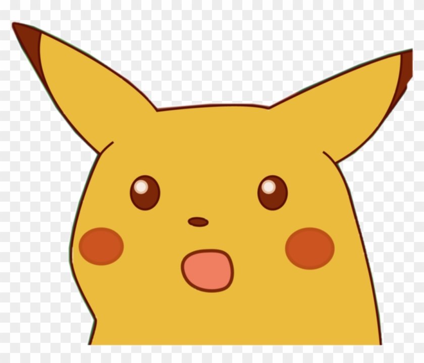 Memes Para Stickers Png Png Download Surprised Pikachu Meme Png Transparent Png 1024x830 2991041 Pngfind