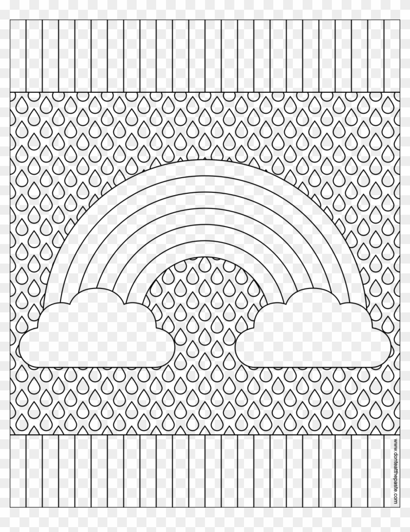 This is a graphic of Witty adult rainbow coloring pages