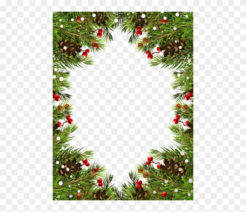 Christmas Top Border Png.Free Png Best Stock Photos Christmas Border Frame Background