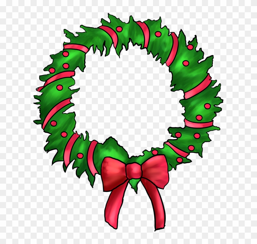 Christmas wreath circle. Wreaths pictures png cartoon