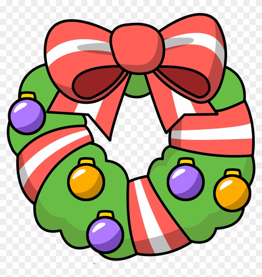 Wreath Clipart Christmas Garland Free Images Image Transparent