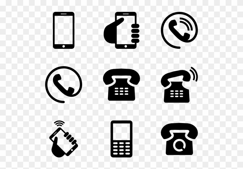 Phone Icons Phone Logo For Resume Hd Png Download 600x564