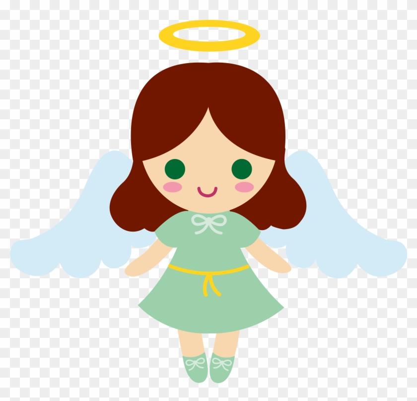 Little Angel With Auburn Hair Little Angel Angel Cartoon Hd Png Download 5999x5483 301933 Pngfind