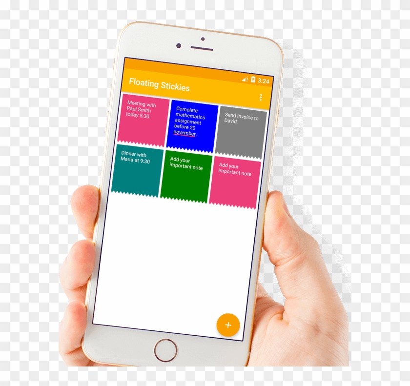 Sticky Notes App Development - Mobile App, HD Png Download