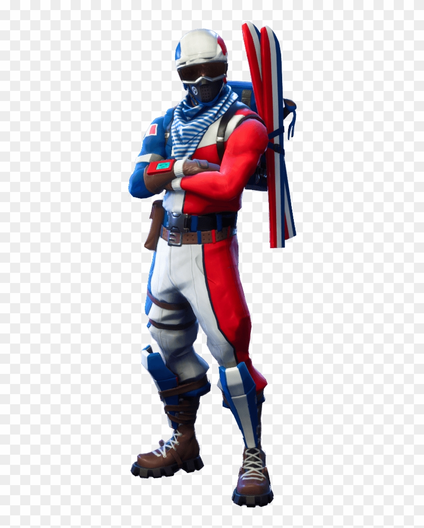 Fortnite Characters No Background , Png Download - Alpine Ace Skin