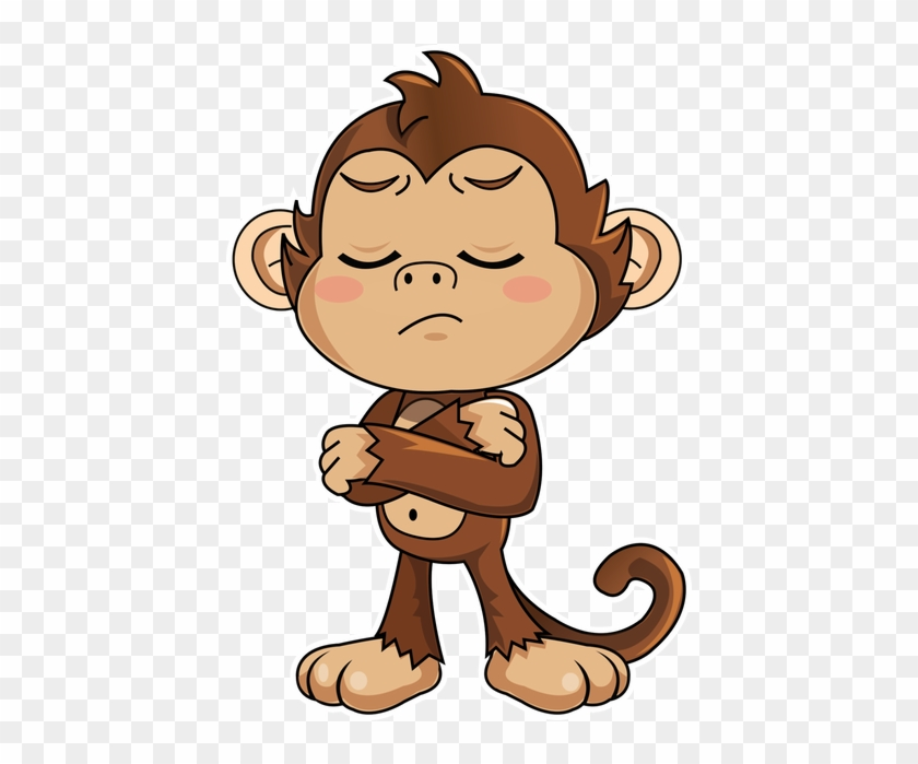 Cute Monkey Stickers Messages Sticker 8 Monkey Stickers For