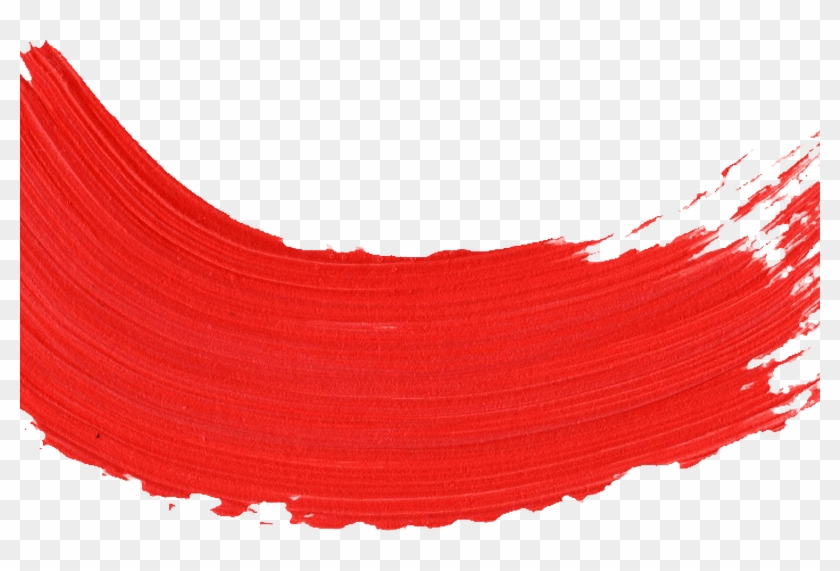 59 Red Paint Brush Stroke Onlygfxcom Hd Png Download 800x491