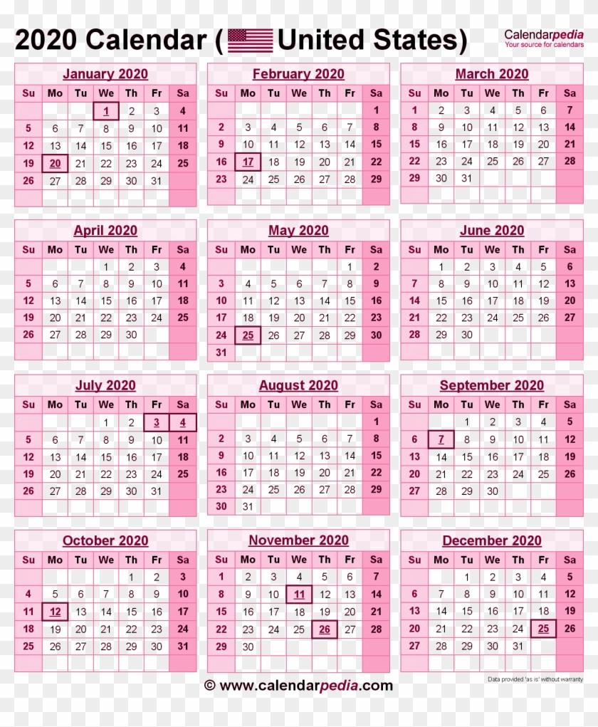 2020 Government Holiday Calendar 2020 Calendar Png Pic   2019 Calendar With Government Holidays