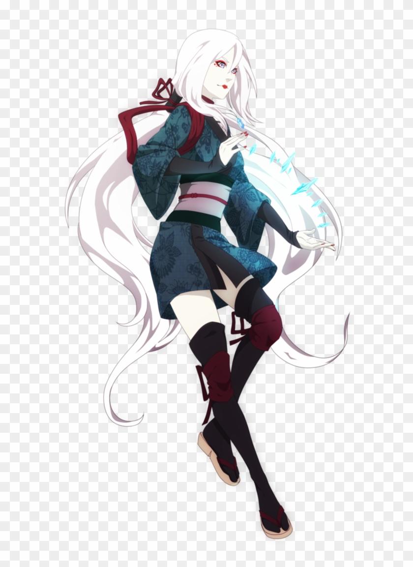 P Com Sae - Anime Ninja Girl Naruto, HD Png Download - 8x8