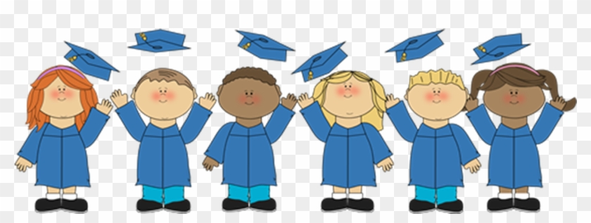 Graduation kindergarten. Clipart transparent library kids