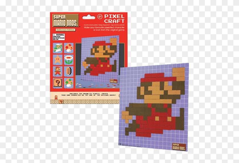 Construction Super Mario Pixel Craft Hd Png Download 600x600