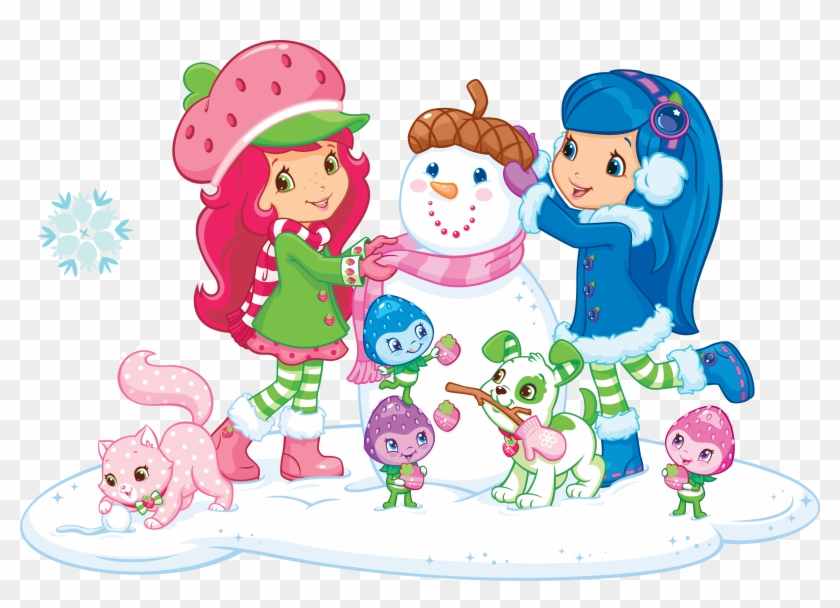Strawberries Clipart Character Strawberry Shortcake Winter Movie