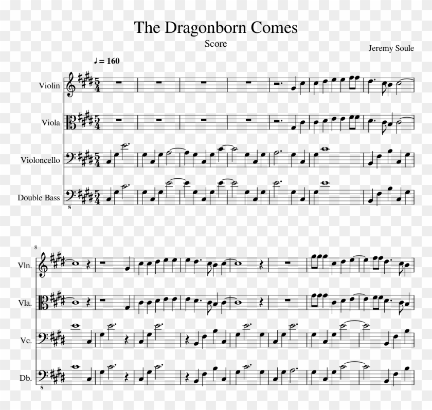 Lord of the rings theme song violin sheet music