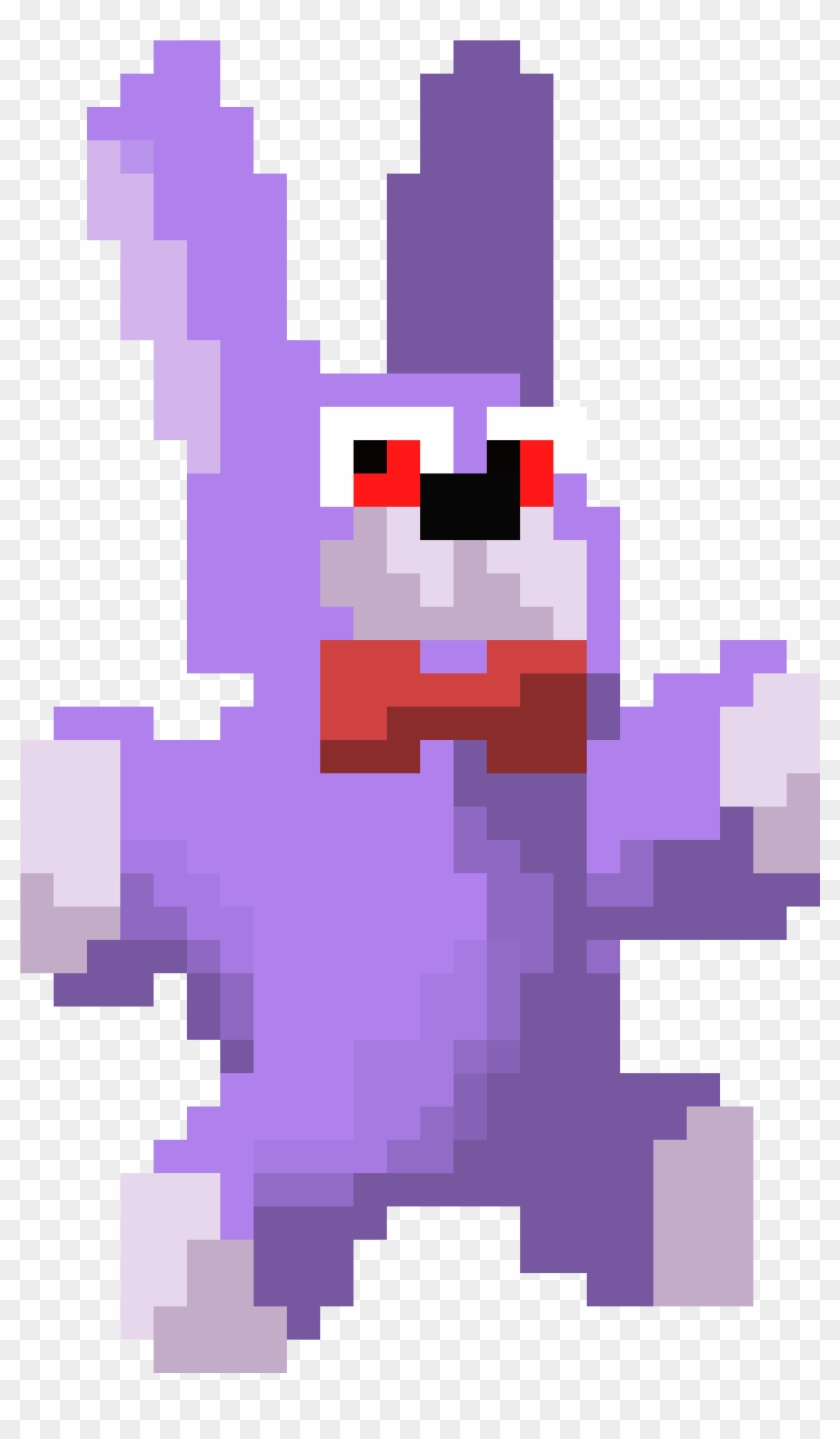Plush Bonnie Pixel Art Hd Png Download 2600x4200