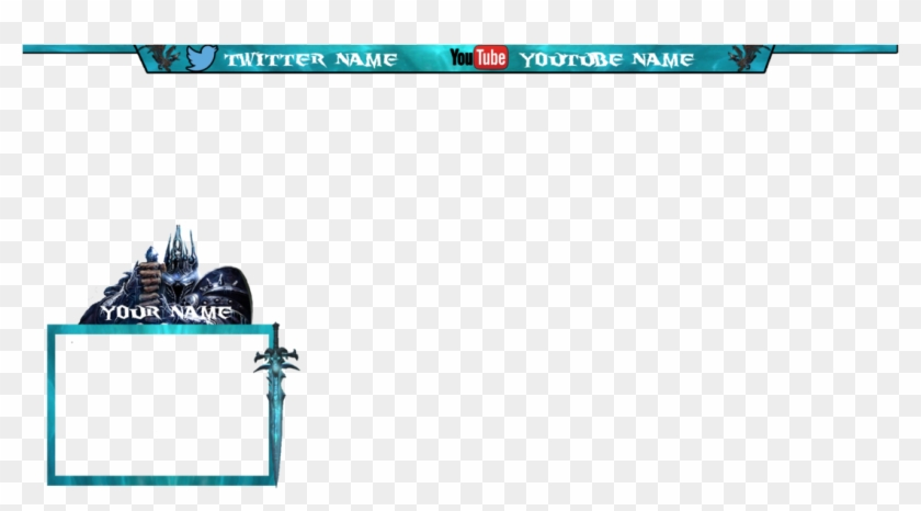 Transparent Mlg Overlay - Twitch Overlay Template World Of