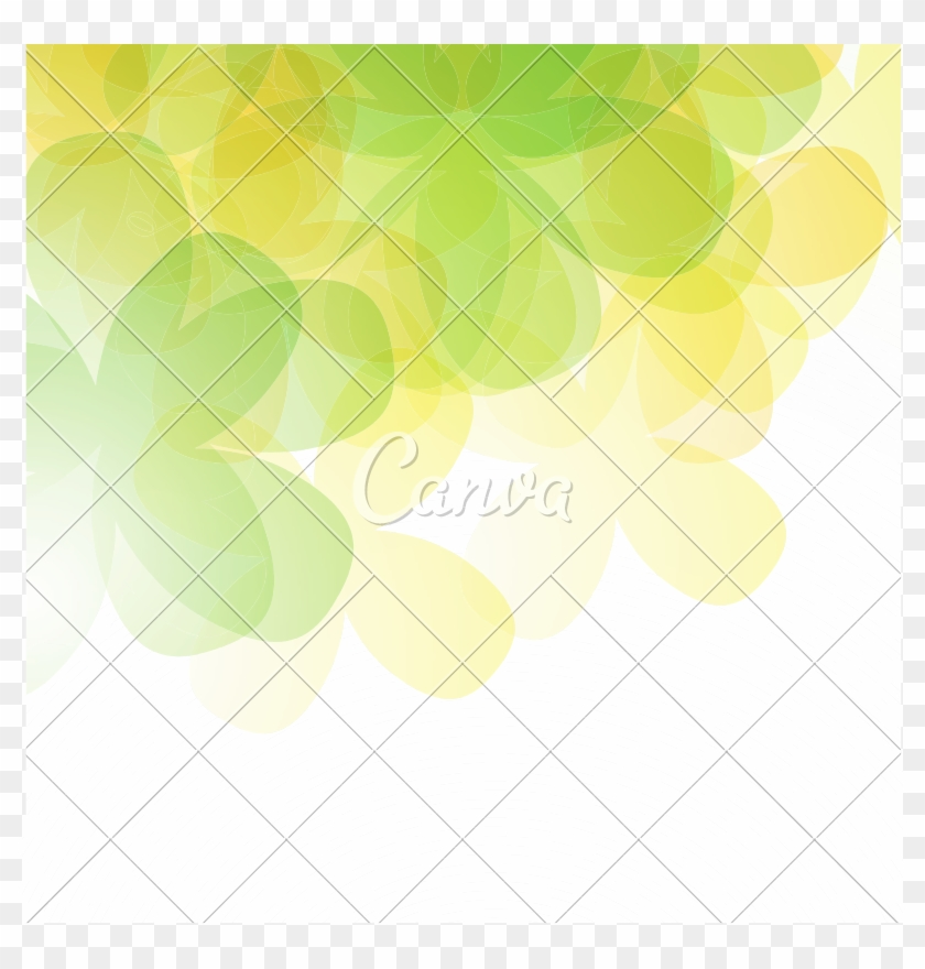 Abstract Green And Yellow Background With Abstract Hd Png