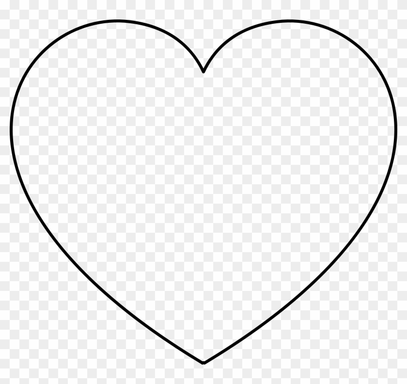 Balloon Shape Template Heart Shape Big Hd Png Download