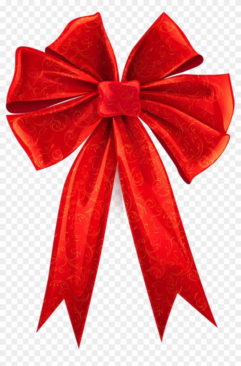 Christmas Ribbon Bow Png Transparent Background Red Bow