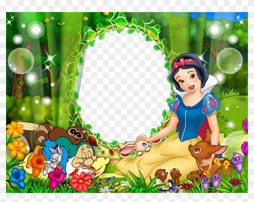 Picture Borders Disney Frames Birthday Frames Png Snow White