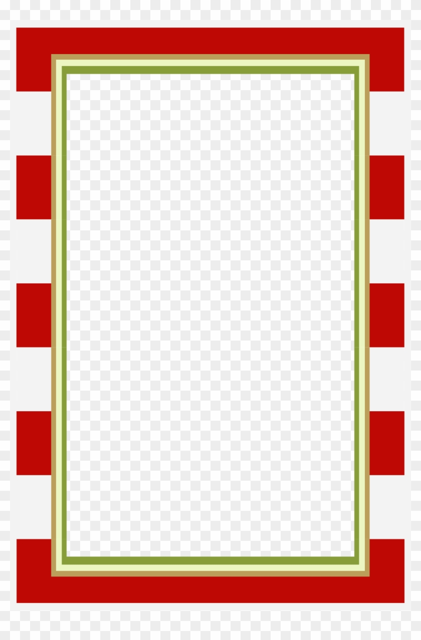 photo relating to Free Printable Picture Frames and Borders titled Crimson White Frames Or Borders Clipart Png - Absolutely free Sbooking
