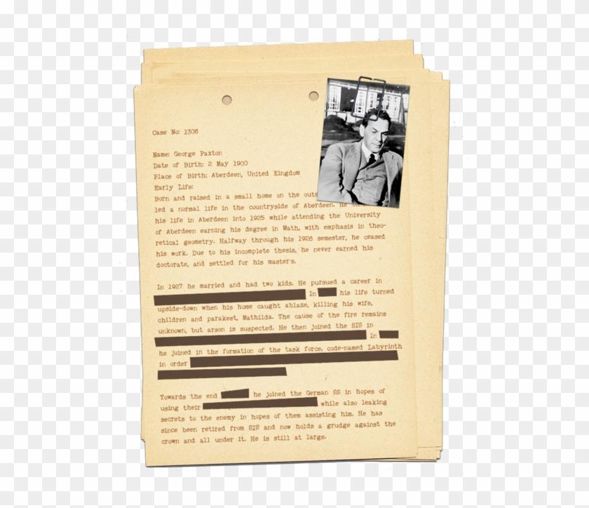 Detective Case File Template 175911 - Detective Case File