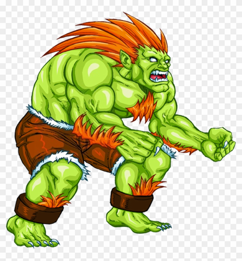 Dan Has Trained Two Street Fighter Characters Blanka Street