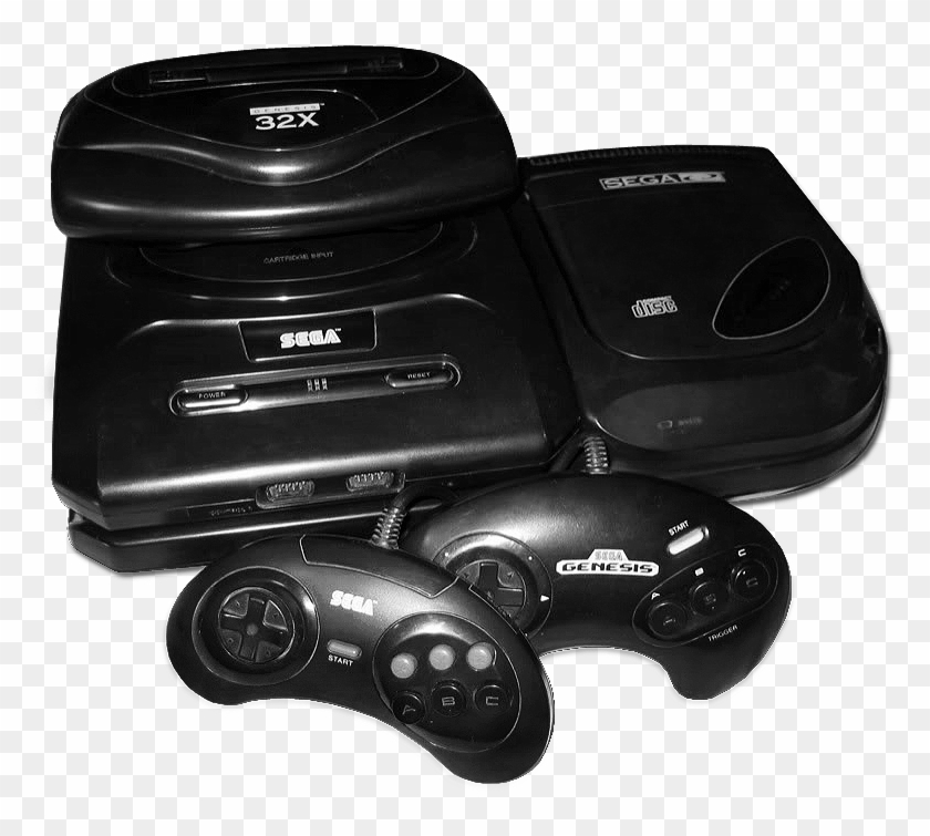 File - Genesiscomplete - Sega Cd 32x Png, Transparent Png