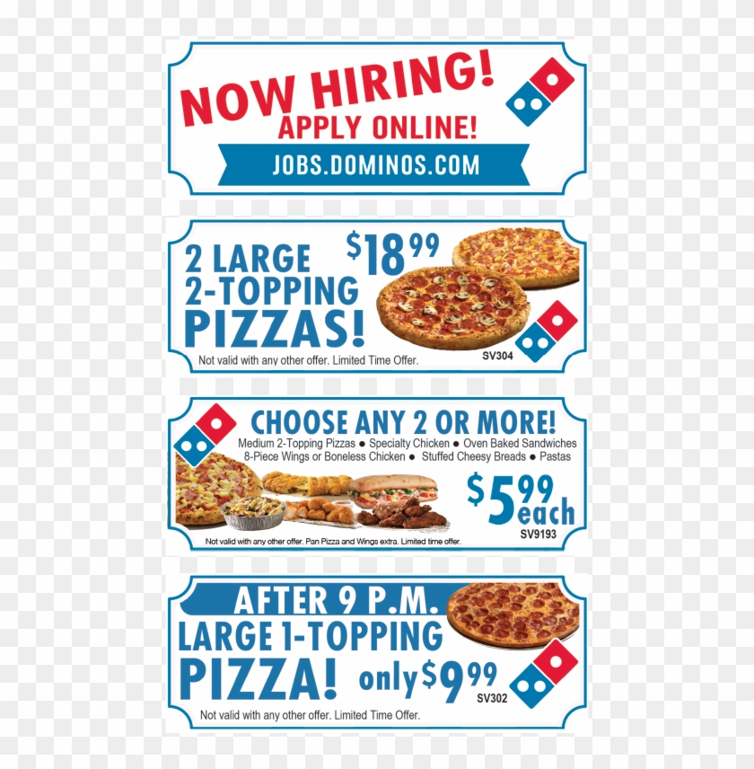 Find Up To 50 Off Dominos Pizza Coupons Online Promo Domino S Pizza Hd Png Download 476x776 3119503 Pngfind