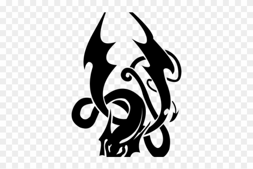 3596000a5 Dragon Tattoos Clipart Png Cb Edit - Black Tattoos Transparent Background,  Png Download. Free Download