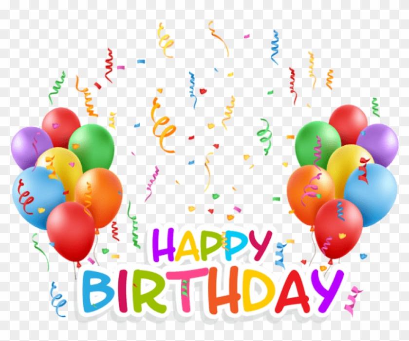 Happy Birthday Balloons Background Background Ballons - Happy Birth