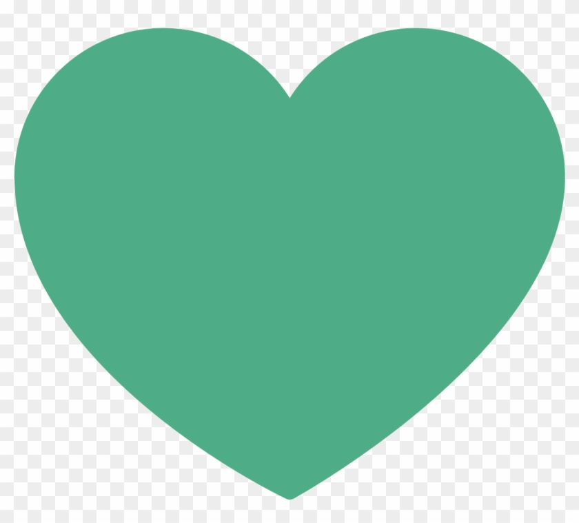 Heart Icon - Tinder Green Heart Png, Transparent Png - 1667x1667
