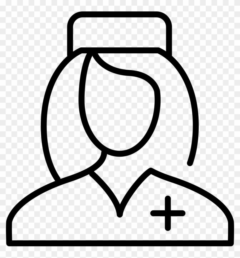 Nurse Christmas Svg.Svg Png Icon Nurse Cap Drawing Transparent Png 952x980