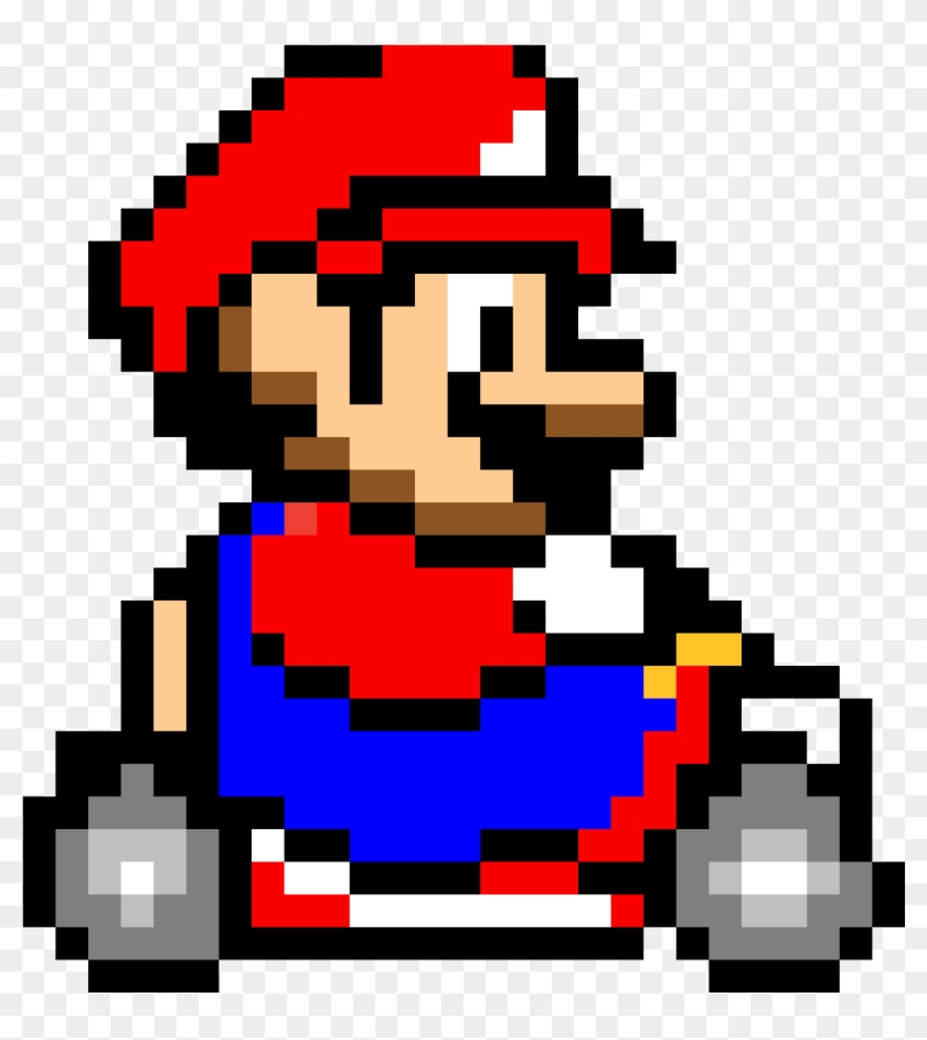 Mario Kart - Super Mario Kart Sprite, HD Png Download - 1184x1184