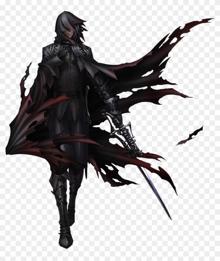 Male Ninja Fantasy Art Hd Png Download 897x1023