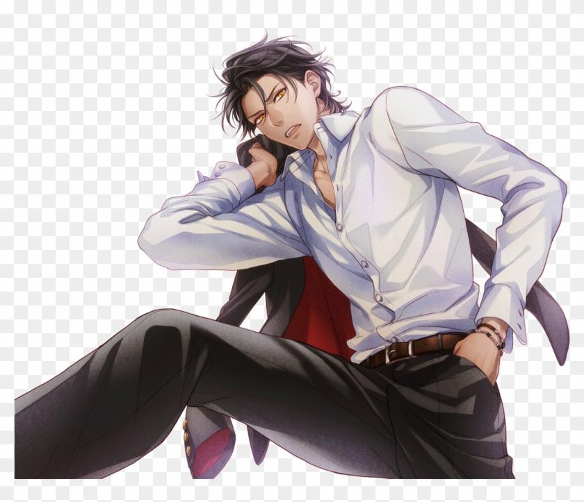 Anime Transparent Bad Boy Bad Boy Anime Boy Black Hair Hd Png Download 1024x1024 3194386 Pngfind