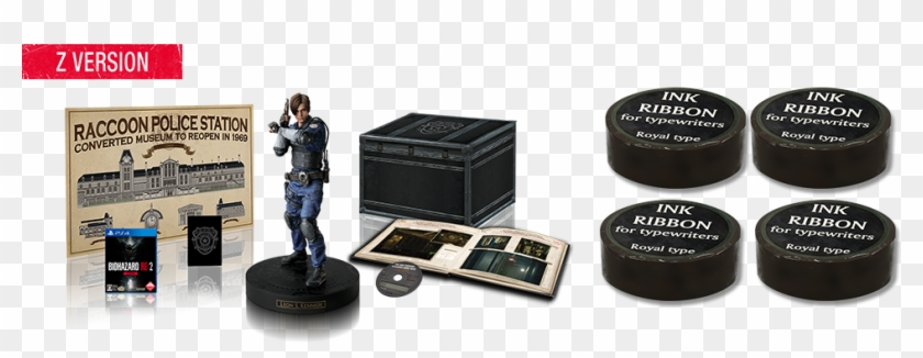 Collector's Edition - Resident Evil 2 Remake Special Edition, HD Png
