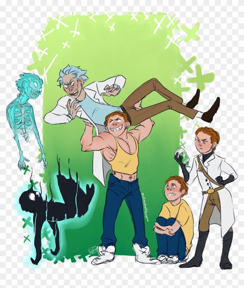Watch Rick And Morty Season 3 Episode - Pocket Mortys Fanart, HD Png