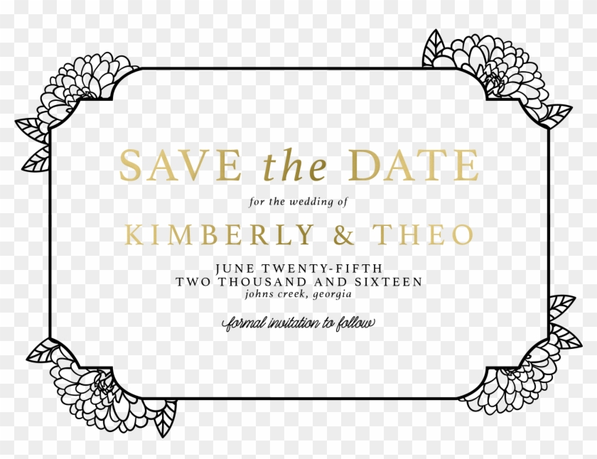 Wedding Save The Dates Personalized Save The Date