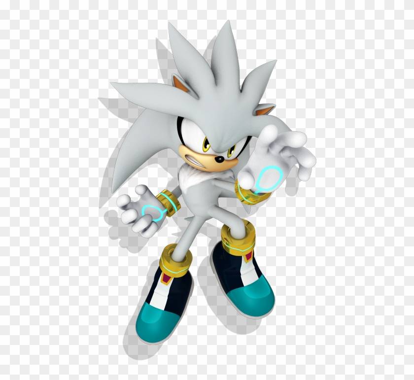 Sonic The Hedgehog Png Sonic Characters Silver Transparent Png 445x691 323815 Pngfind