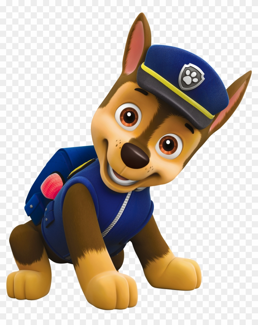 Paw Patrol Chase Png Cartoon Image Clipart Paw Patrol Characters