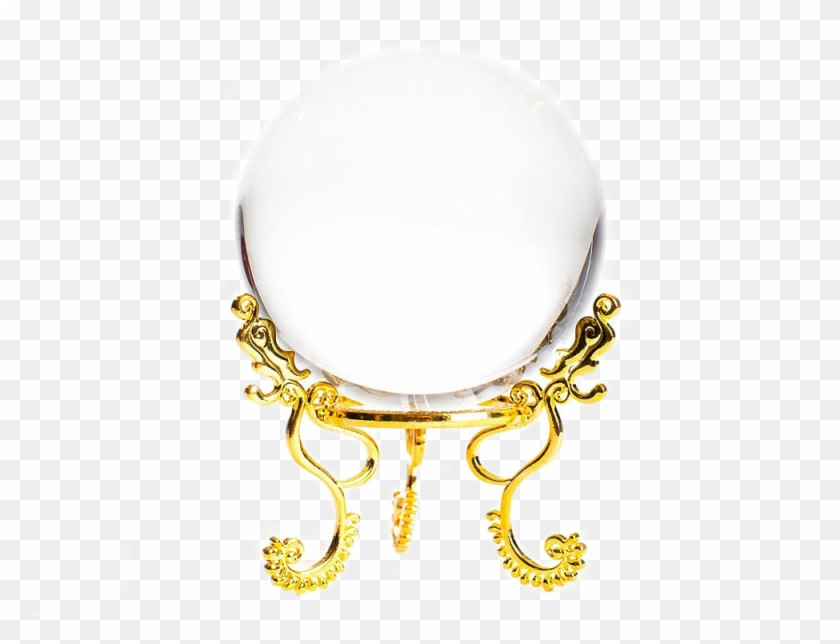 Image Of Opulent Divination Crystal Ball - Circle, HD Png