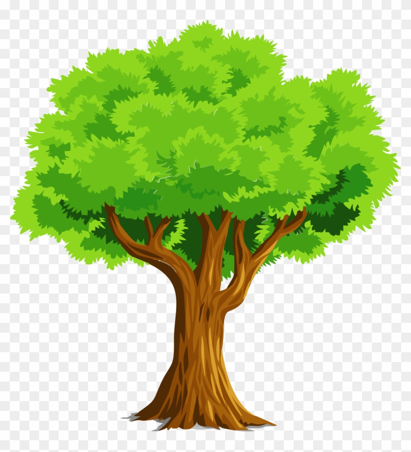 Colorful Natural Tree Vector Clipart Tree Clipart Hd